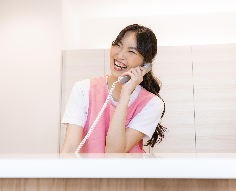 笑顔あふれる明るい院内&コミュニケーション
