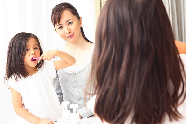 小児歯科を「お子様を虫歯から守るために正しい知識を身に付ける場所
