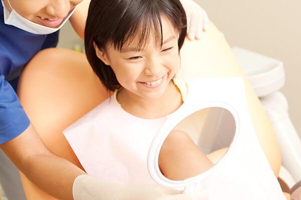 丁寧な歯磨き指導